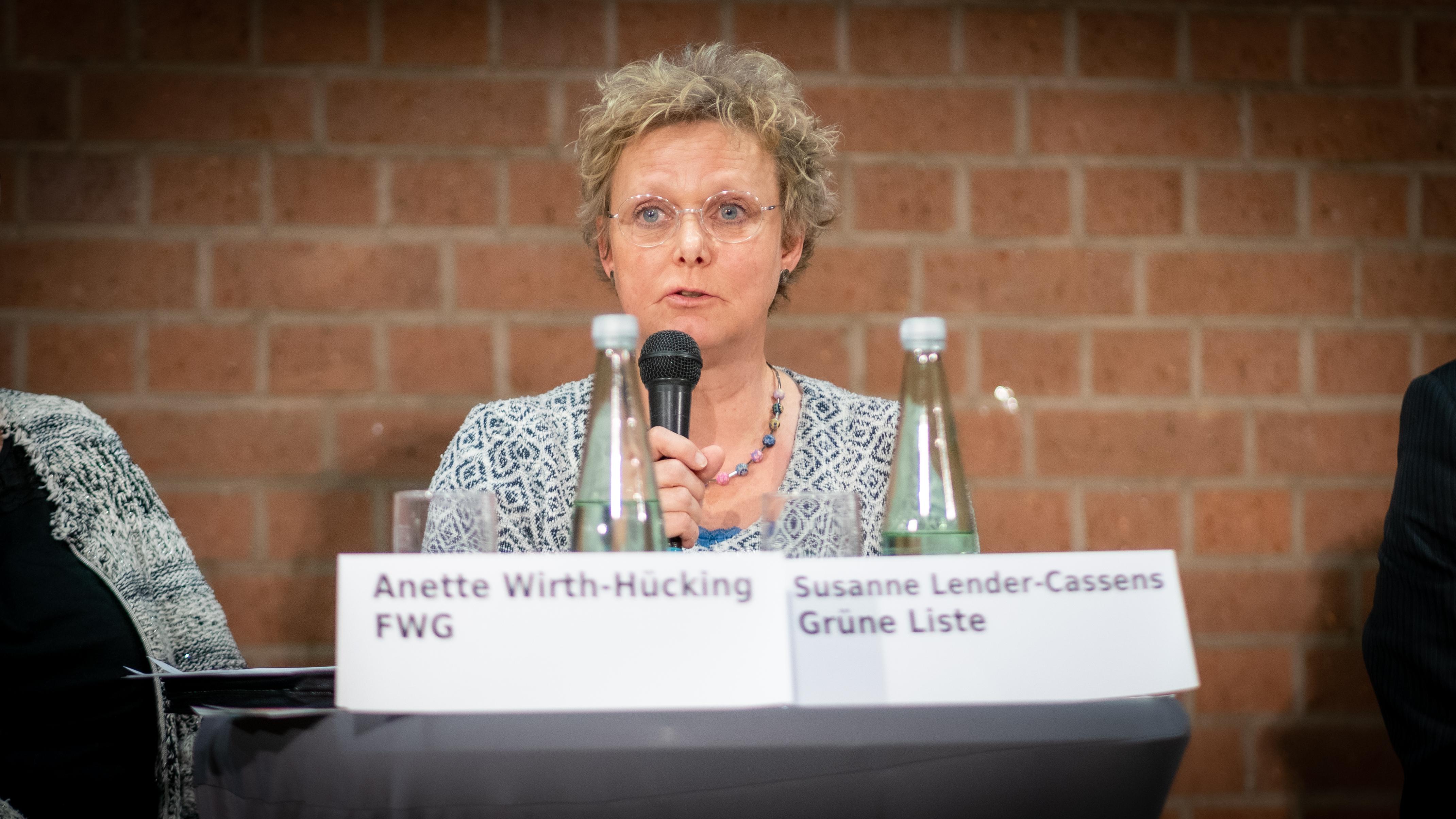 Susanne Lender-Cassens (Grüne Liste)